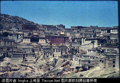 珍贵的20世纪初西藏等地的彩照